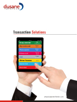 Transaction System Brochure